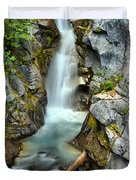 Christine Falls In The Canyon Duvet Cover