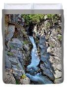 Christine Falls - Upper Part - Mount Rainier National Park 3 Duvet Cover
