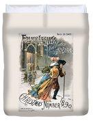 Christmas, 1890 Duvet Cover