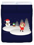 Christmas #6 Duvet Cover