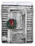 Christmas At The Farm Duvet Cover