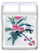 Christmas Berries Duvet Cover