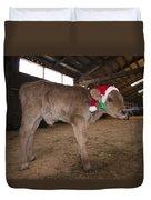 Christmas Calve Of Honor Duvet Cover