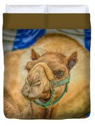 Christmas Camel On Call Duvet Cover