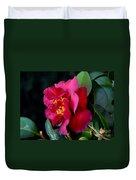 Christmas Camellia Duvet Cover