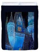 Christmas Castle Duvet Cover