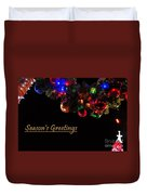 Christmas Decoration Greeting  Duvet Cover