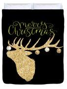 Christmas Deer Duvet Cover