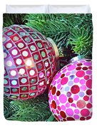 Christmas Dots No. 1-1 Duvet Cover