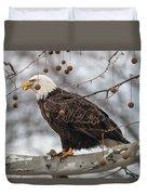 Christmas Eagle Duvet Cover