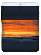 Christmas Eve Panrama 2 Duvet Cover