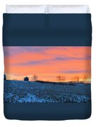 Christmas Eve Panrama Duvet Cover