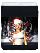 Christmas Fairy Duvet Cover