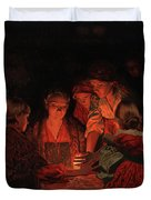 Christmas Fortune-telling. Duvet Cover