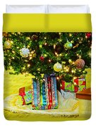 Christmas Holiday Tree Duvet Cover