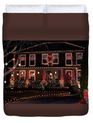 Christmas House-2 Duvet Cover