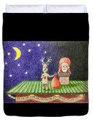 Christmas Illustration Duvet Cover