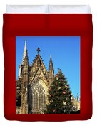 Christmas In Cologne Duvet Cover