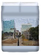 Christmas In Columbia Duvet Cover