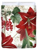 Christmas In Paris II Duvet Cover