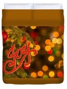 Christmas Joy Duvet Cover