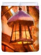 Christmas Lamp Duvet Cover