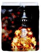 Christmas Lantern Duvet Cover