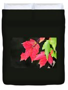 Christmas Leafs Duvet Cover