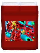 Christmas Lights Festival Duvet Cover