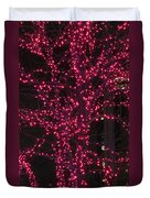 Christmas Lights 6th Ave 4 Abstract Duvet Cover