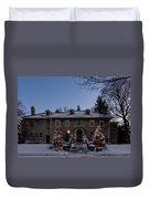 Christmas Lights Series #4 Duvet Cover