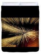 Christmas Lights Zoom Blur II Duvet Cover