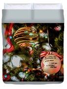 Christmas Martini 4389 Duvet Cover