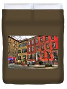 Christmas On Grove Street Duvet Cover