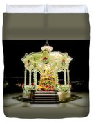 Christmas On The Square Duvet Cover