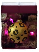 Christmas Ornament Duvet Cover