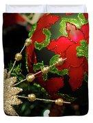 Christmas Ornaments 2 Duvet Cover