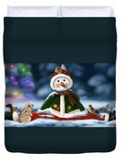 Christmas Party Duvet Cover