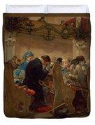 Christmas Prayers Duvet Cover