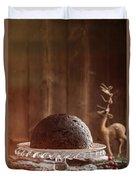 Christmas Pudding Duvet Cover