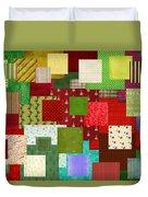 Christmas Quilt Duvet Cover