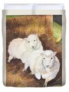 Christmas Sheep Duvet Cover