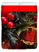 Christmas Time Is Here Duvet Cover