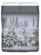 Christmas Tree Farm Duvet Cover
