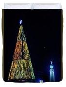 Christmas Tree San Salvador Duvet Cover