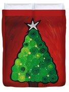 Christmas Tree Twinkle Duvet Cover