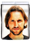 Christopher Eccleston Duvet Cover