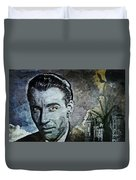 Christopher Lee Duvet Cover