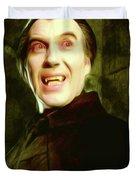 Christopher Lee, Dracula Duvet Cover