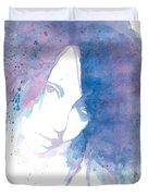 Chromatic Girl Duvet Cover